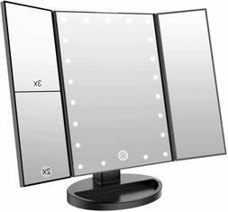 Miroir Maquillage Lumières LED Grossissant Eclairage Maquil